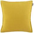 Zierkissen Solid One Gelb 45x45 cm - Gelb, Textil (45/45cm)
