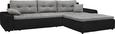 Funkcijska Sedežna Garnitura Milky Way - črna/siva, Konvencionalno (310/80/211cm) - Mömax modern living