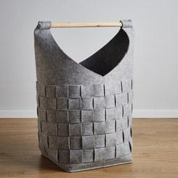 Korb Cui Höhe 72 cm - MODERN, Textil (35/35/72cm)