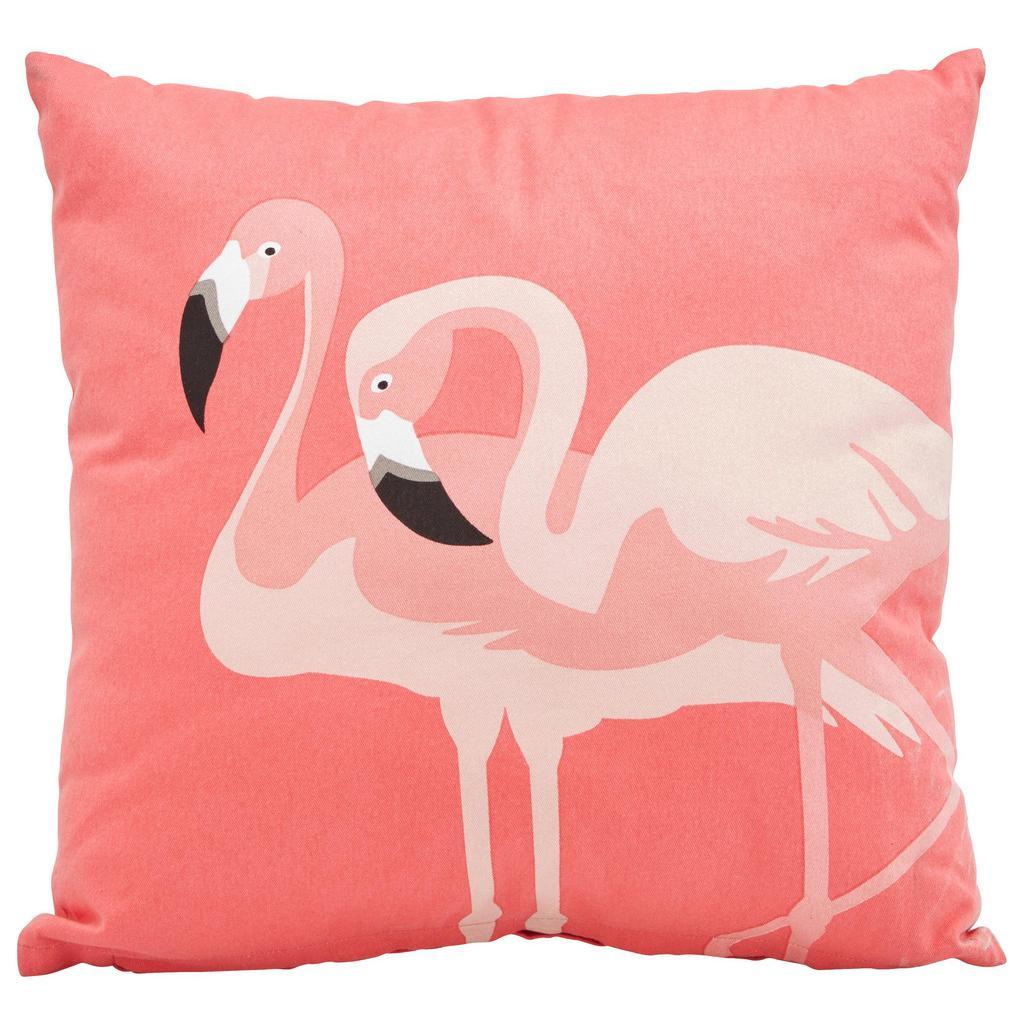 Zierkissen Flamingo Couple ca. 45x45cm