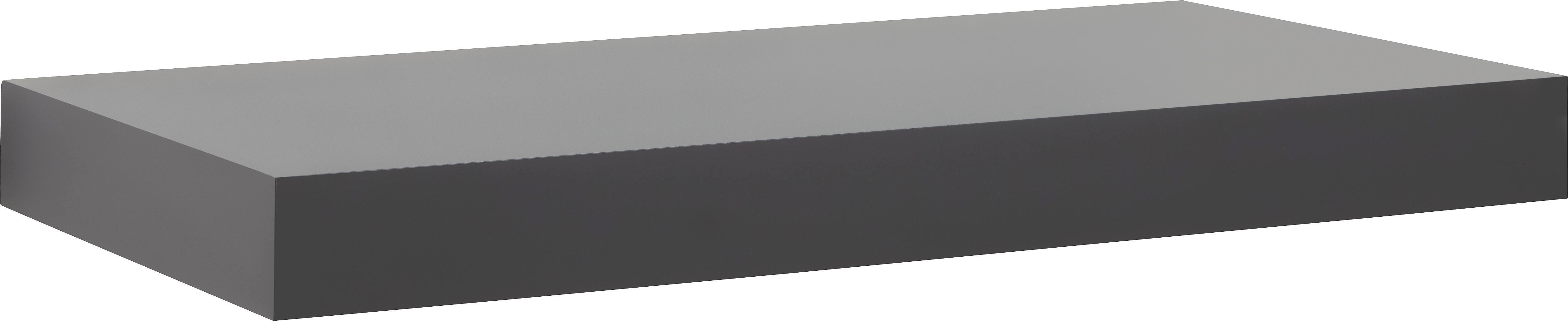Polc Anja Schwarz   -sb- - fekete, faanyagok (50/4,5/24cm)
