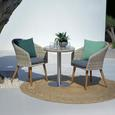 Set Za Balkon San Remo - siva/bež, Moderno, kovina/umetna masa - Mömax modern living