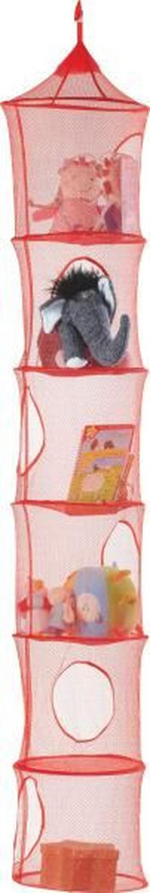 Aufbewahrungsbox Kampy - Rot, KONVENTIONELL, Textil (30/180cm) - Xenos