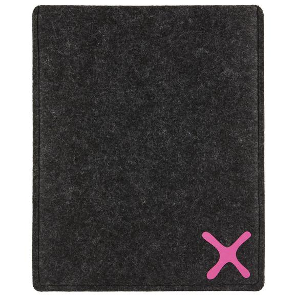 Etui Za Tablični Računalnik Mömax For You - roza/antracit, ostali naravni materiali (21,5/26/3cm) - Mömax modern living