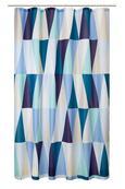 Duschvorhang Triangel in Bunt, ca.180x200cm - Multicolor, LIFESTYLE, Textil (180/200cm) - MÖMAX modern living
