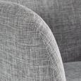 Stuhl Ilona - Buchefarben/Hellgrau, MODERN, Holz/Textil (57/90/45cm) - Mömax modern living