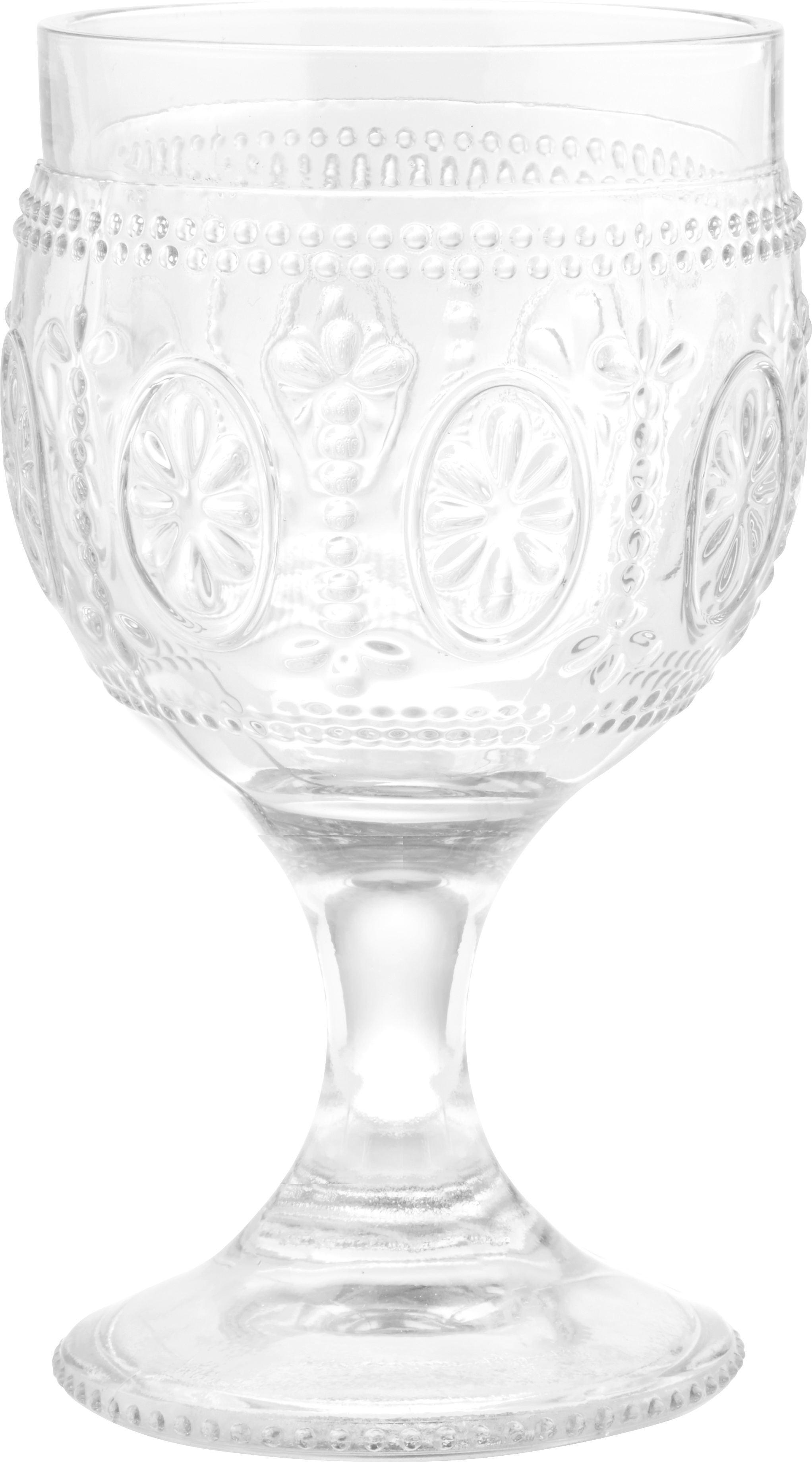 Rotweinglas St. Remy aus Glas, ca. 240ml - Klar, ROMANTIK / LANDHAUS, Glas (8,5/15cm) - MÖMAX modern living