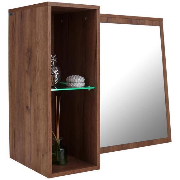 Element Z Ogledalom Avensis New - hrast, Konvencionalno, steklo/leseni material (90/70/25cm) - Mömax modern living