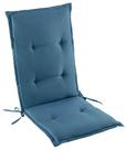Sesselauflage Poppi in Blau - Blau, Textil (48/115/48cm) - Mömax modern living