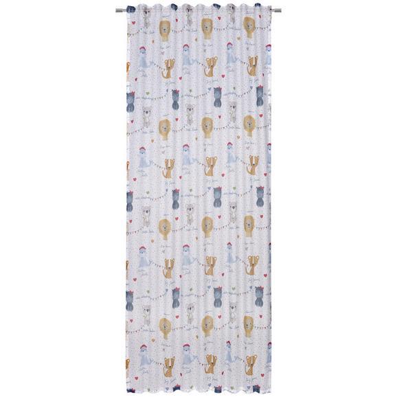 Fertigvorhang Zoobabys in Beige ca.135x245cm - Beige, Textil (135/245cm) - Mömax modern living