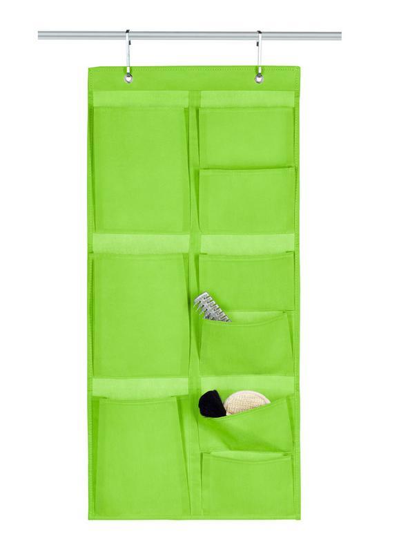 Hängeaufbewahrung Lotta in Grün - Grün, Karton/Textil (40/88cm) - Mömax modern living
