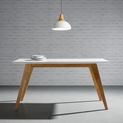 Esstisch Harry 150x90cm - Naturfarben/Weiß, MODERN, Holz (150/90/75cm) - MÖMAX modern living