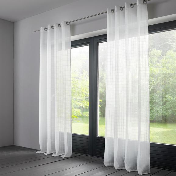 Store Eileen 140x245cm - Weiß, MODERN, Textil (140/245cm) - Mömax modern living