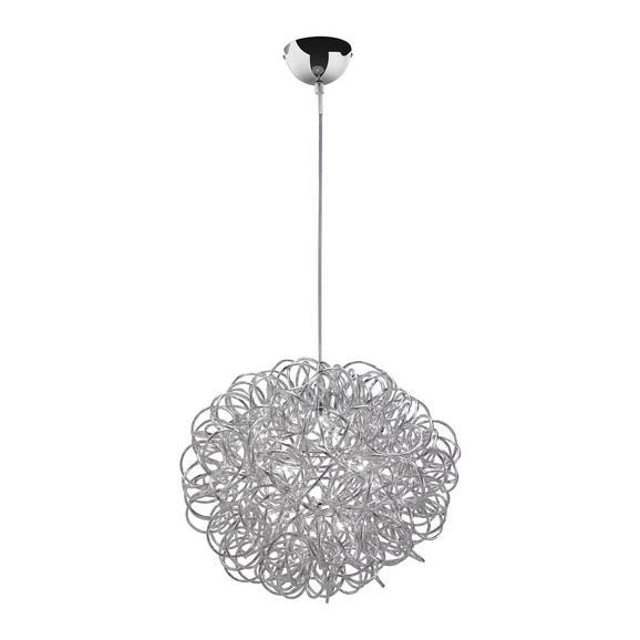 LED-Hängeleuchte max. 3 Watt 'Clea' - Chromfarben, MODERN, Metall (40/135cm) - Bessagi Home