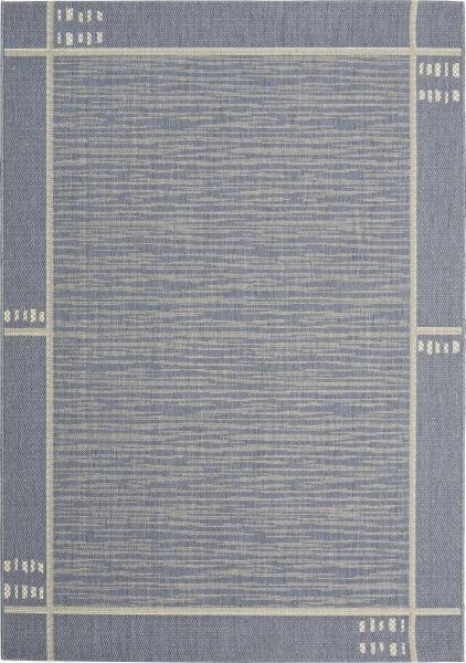 Síkszövött Szőnyeg Emil 1 - kék, konvencionális, textil (80/200cm) - MÖMAX modern living