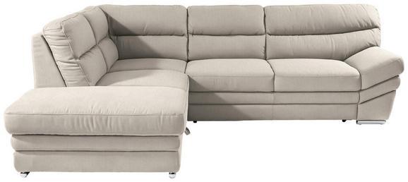 Sedežna Garnitura Victory - krom/peščena, Konvencionalno, kovina/tekstil (217/264cm) - Premium Living