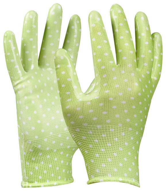 Gartenhandschuhe Tommi Orange in Grün - Grün, Textil