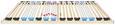 Lattenrost ca. 90x200cm - (90/200cm) - Nadana
