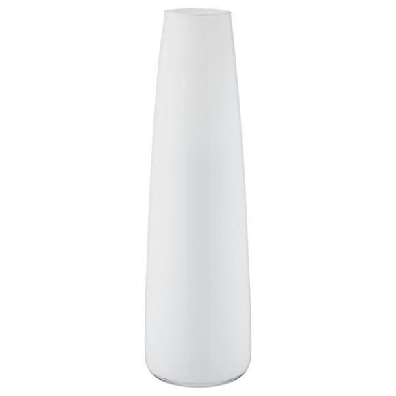 Vase Jenny verschiedene Farben - Schwarz/Weiß, Glas (70cm) - Mömax modern living