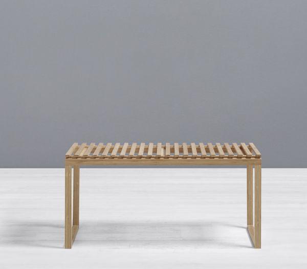 Badezimmerregal Mirella - Naturfarben, MODERN, Holz (90/44/36cm) - MÖMAX modern living
