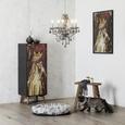 Bild Adele Bunt - Multicolor/Schwarz, LIFESTYLE, Holzwerkstoff/Kunststoff (62/93/4cm) - Modern Living