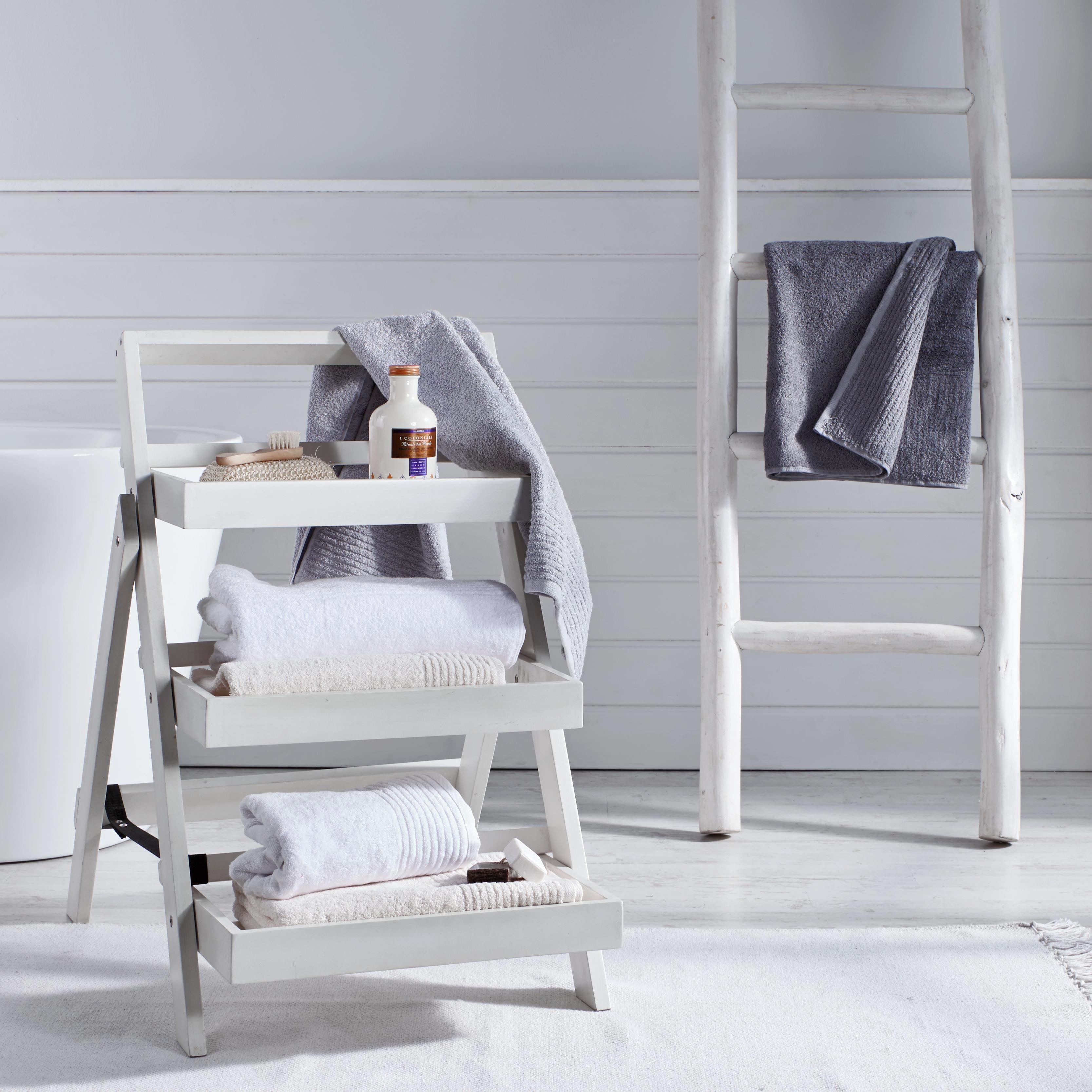 Duschtuch Dyckhoff 70x140cm - Grau, LIFESTYLE, Textil (70x140cm) - DYCKHOFF