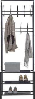Samostoječ Obešalnik Amelia -sb- - črna, Moderno, kovina (67/185/32cm) - Mömax modern living