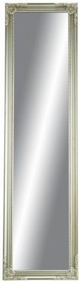 Standspiegel Barock in Silberfarben - Silberfarben, MODERN, Glas/Holz (45/170/5cm) - Mömax modern living