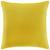 Zierkissen Zippmex Yellow ca.50x50cm - Gelb, Textil (50/50cm) - Based