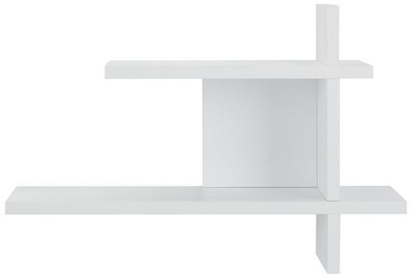 Wandregal in Weiß - Weiß, MODERN, Holzwerkstoff (60/40/17cm) - Mömax modern living