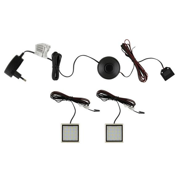 LED-Dekoleuchte QUATRO mit LED - Weiß (5/5/1cm) - Mömax modern living
