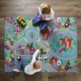 Spielteppich Ralley Bunt ca. 80x120cm - Textil (80/120cm) - Mömax modern living