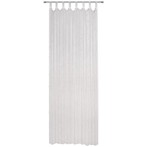 Schlaufenvorhang Silvy in Silberfarben - Silberfarben, Basics, Textil (140/245cm) - Mömax modern living