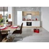 Kuhinjski Blok Samoa - barve hrasta/bela, Konvencionalno, leseni material (270cm)