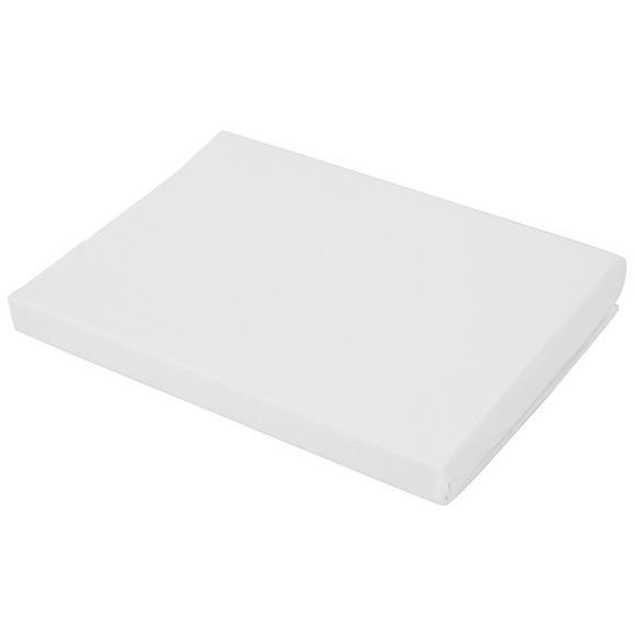 Spannleintuch Basic in Weiß, ca. 100x200cm - Weiß, Textil (100/200cm) - Mömax modern living