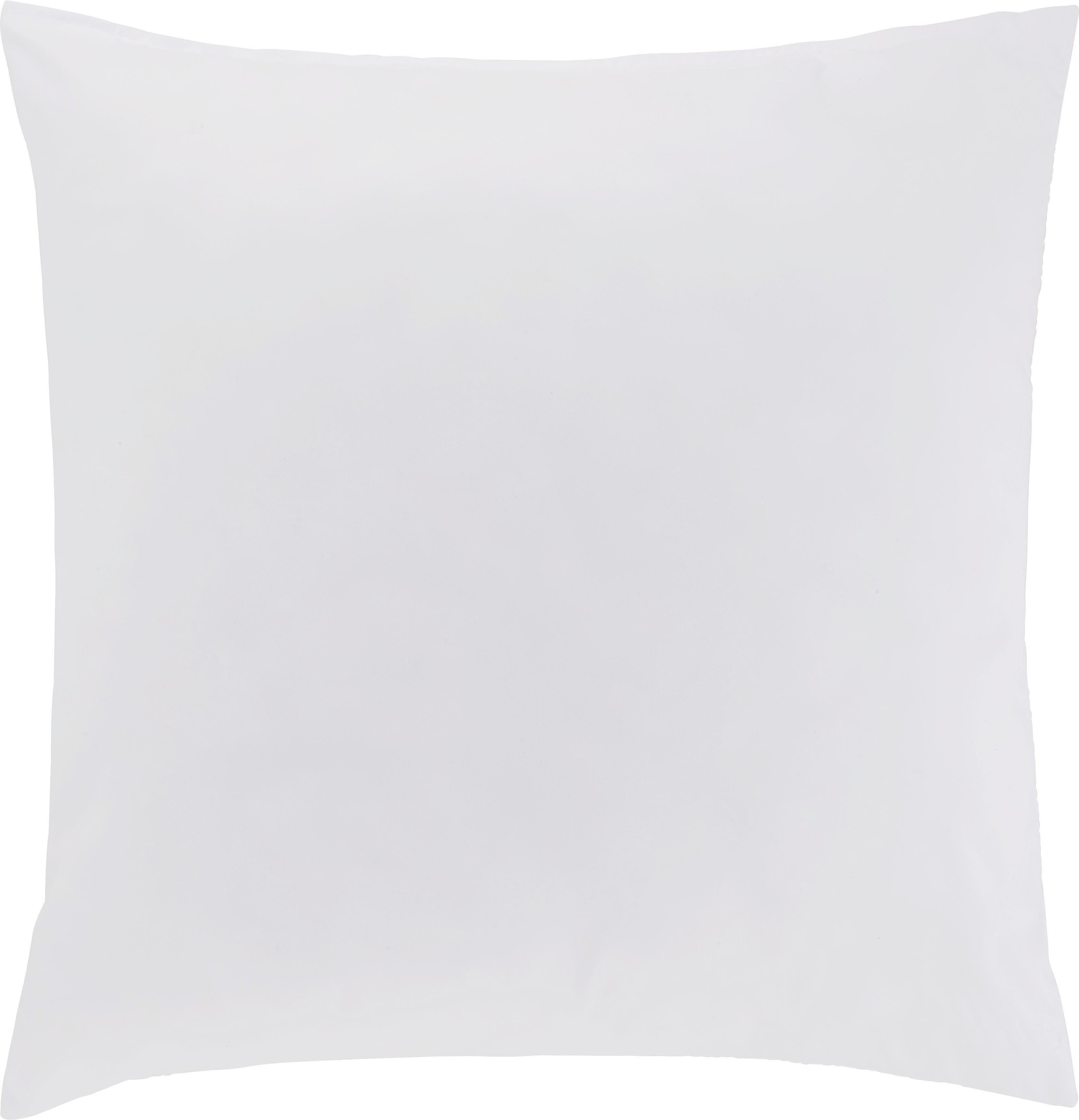 Kissen Ani in Weiß, ca. 50x50cm - Weiß, Textil (50/50cm) - MÖMAX modern living
