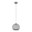 Pendelleuchte Stefano - Chromfarben, MODERN, Glas/Metall (25/125cm) - Bessagi Home
