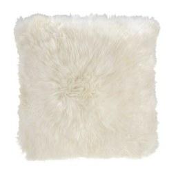 Kissen in Weiss 'Leander' ca. 45x45cm - Weiß, MODERN (45/45cm) - Bessagi Home