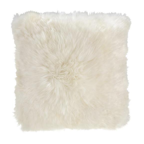 Kissen Leander ca.45x45cm in Weiß - Weiß, MODERN (45/45cm) - Mömax modern living