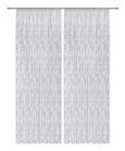 Fertigvorhang Babette Weiß 140x245cm - Weiß, ROMANTIK / LANDHAUS, Textil (140/245cm) - Zandiara