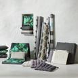 Outdoorteppich in Grau/Weiß ca.70x140cm 'Stars' - Weiß/Grau, MODERN, Textil (70/140cm) - Bessagi Garden