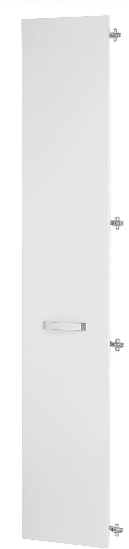 Vrata Ducato - bela, Moderno, kovina/umetna masa (39.4/210.9/1.8cm) - Premium Living