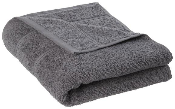Handtuch Melanie in Anthrazit - Anthrazit, Textil (50/100cm) - MÖMAX modern living