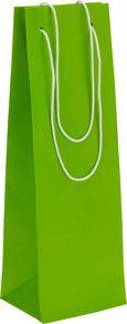 Darilna Vrečka Fiona - svetlo zelena, Moderno, papir (12/36/10cm)