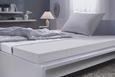 KOMFORTSCHAUMMATRATZE Schaumstoffkern ca. 90x200cm - Weiß, Textil (90/200cm) - Nadana