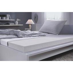 Ležišče 90x200 Cm Living Soft - bela, tekstil (90/200cm) - Nadana