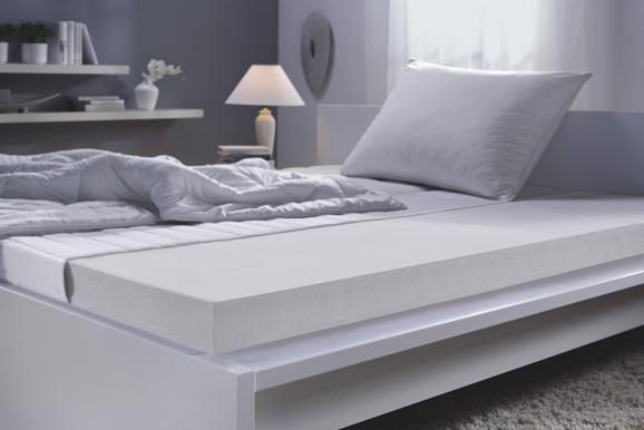 Matratze Schaumstoffkern ca. 80x200cm - Weiß, Textil (80/200cm) - Nadana