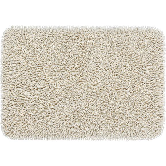 Fürdőszobaszőnyeg Jenny - Natúr, Textil (60/90cm) - Mömax modern living