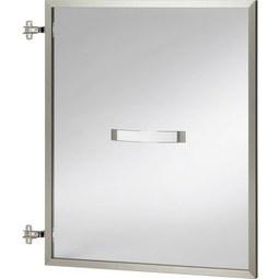 Tür in Alufarben - Champagner/Alufarben, MODERN, Glas/Metall (56.6/70.1/2.1cm) - Premium Living