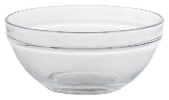 Schüssel Petra aus Glas - Klar, Glas (12/5,5cm) - MÖMAX modern living